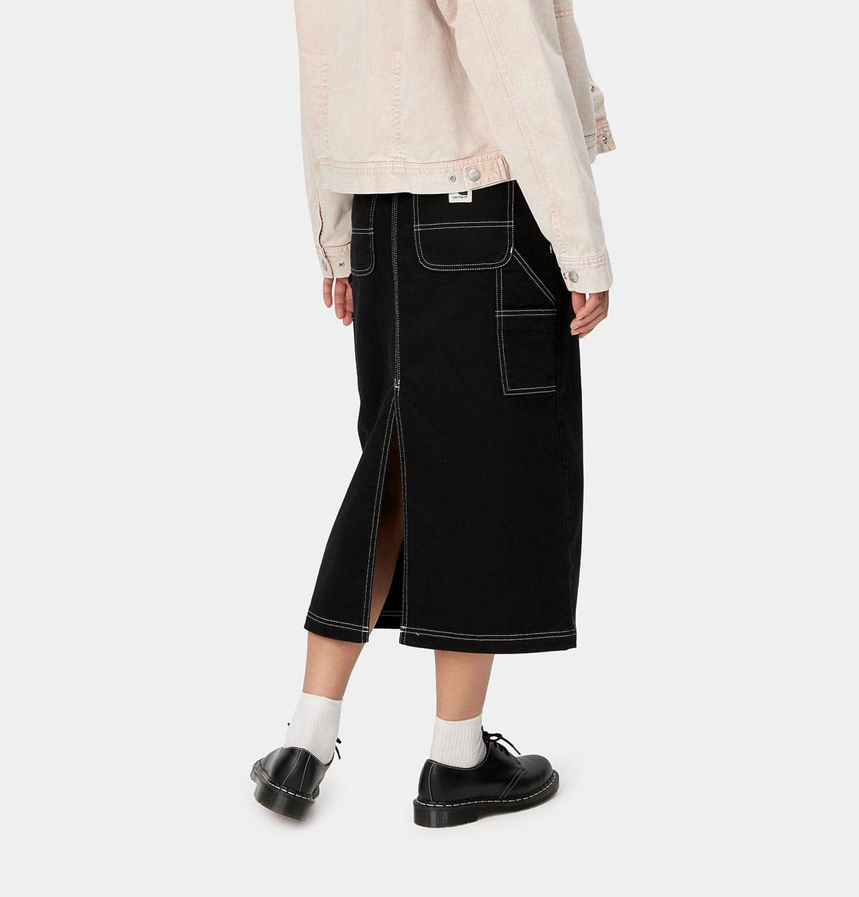 Carhartt WIP W' Pierce Skirt – Dark Navy – Rigid