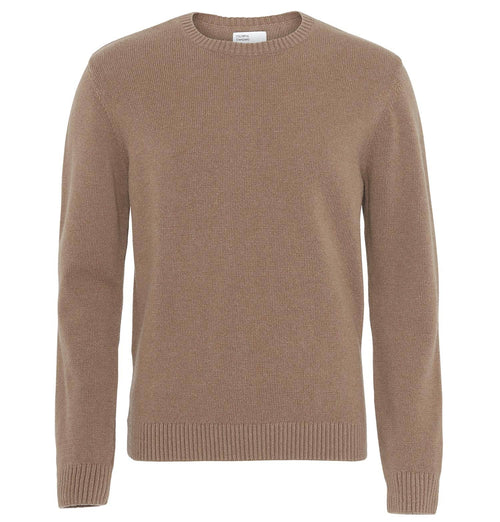 Colorful Standard Classic Merino Wool Crewneck Jumper – Warm Taupe
