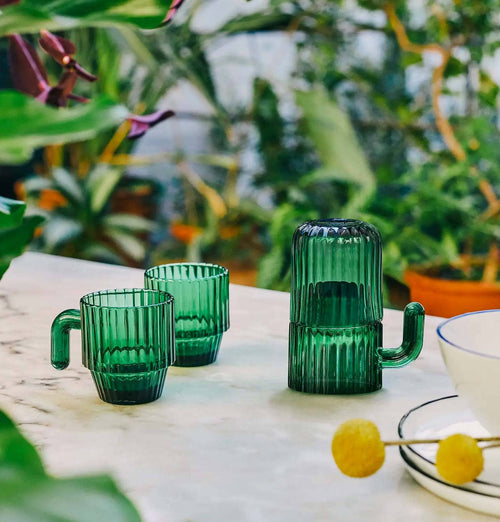 DOIY Saguaro Cactus Coffee Glasses