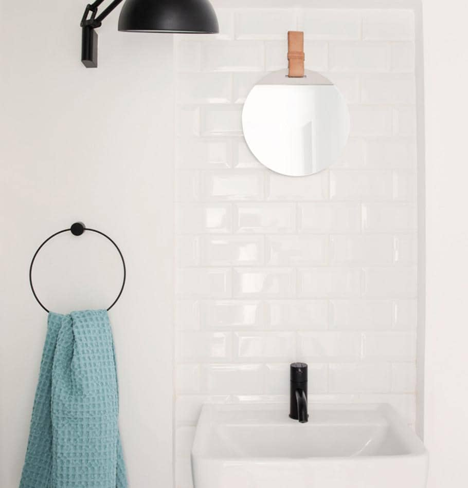 Ferm Living Towel Holder - Black - HUH. Store