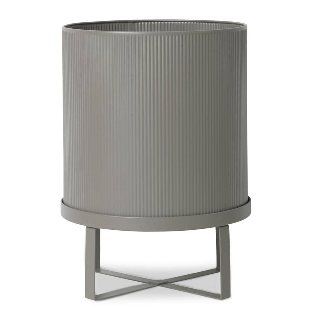 Ferm Living Bau Pot – Warm Grey – Large