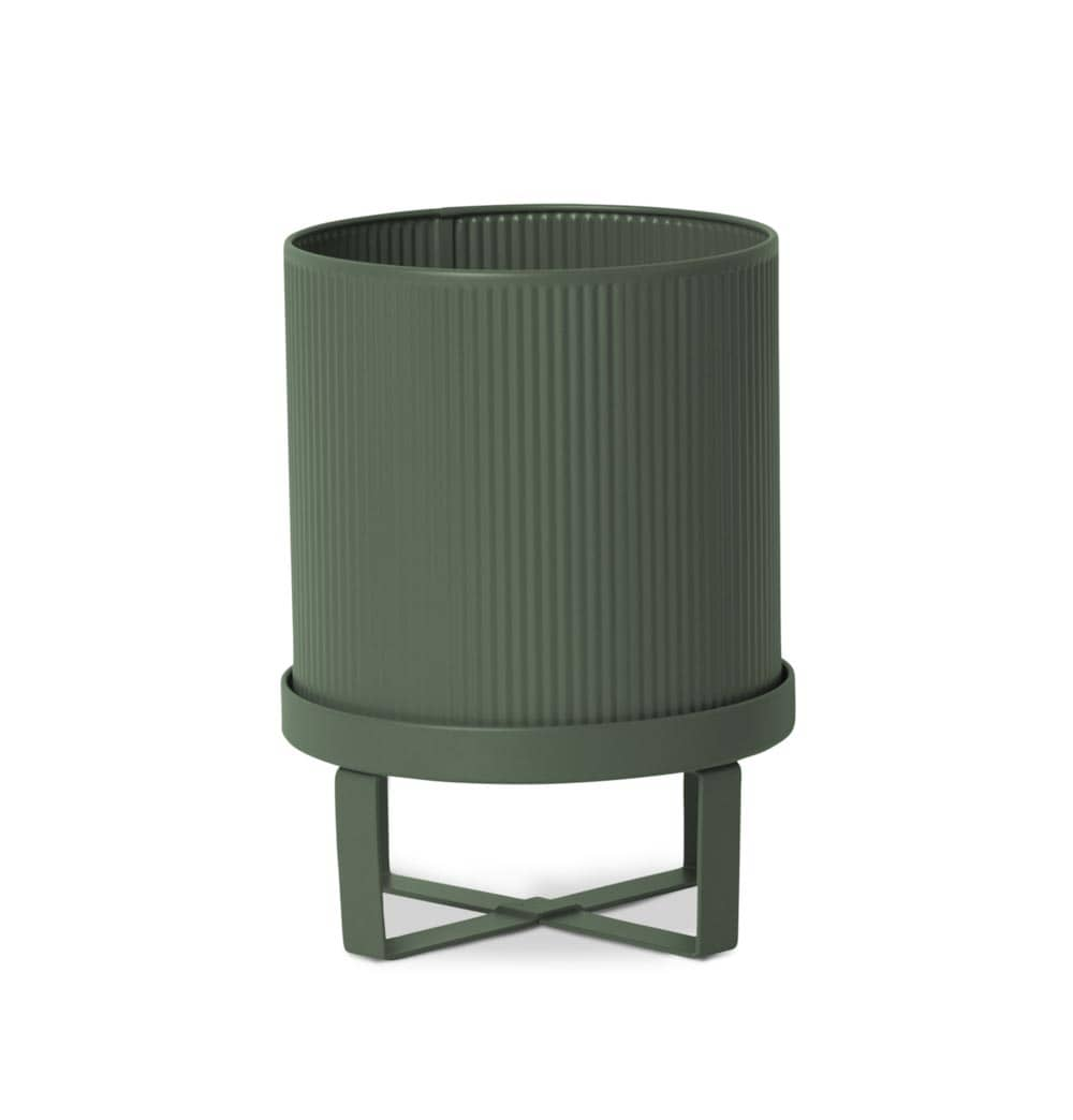 Ferm Living Bau Pot – Dark Green – Small
