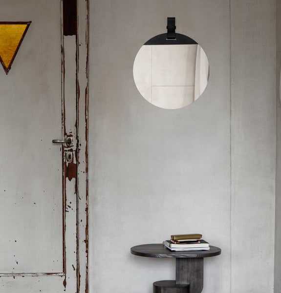 Ferm Living Enter Mirror Large Black Huh Store