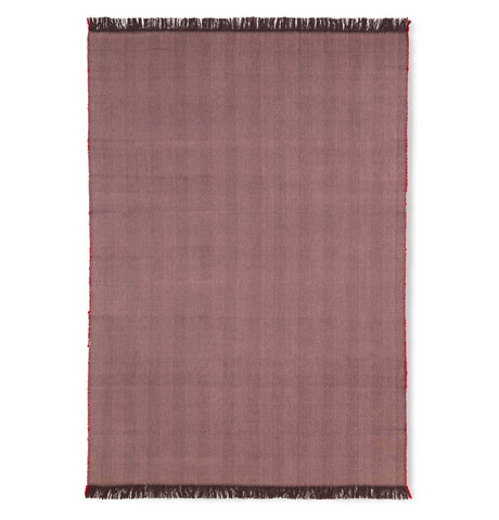 Ferm Living Desert Tufted Rug – Red Brown