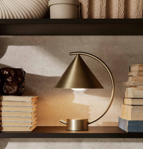Ferm Living Meridian Lamp – Brass