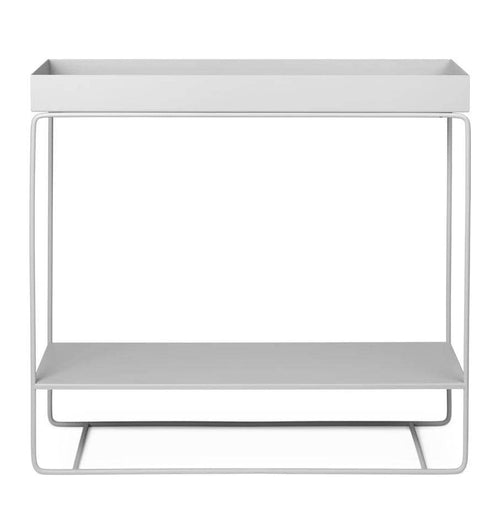 Ferm Living Plant Box – Two-Tier – Light Grey