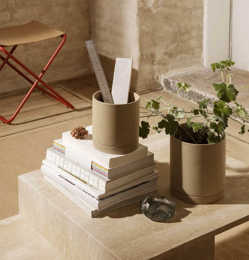 Ferm Living Sekki Pot – Medium – Sand