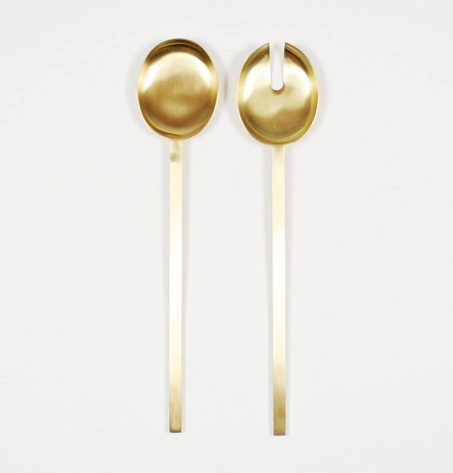 Ferm Living Brass Salad Servers - HUH. Store