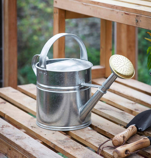 Garden Trading 5L Galvanised Watering Can