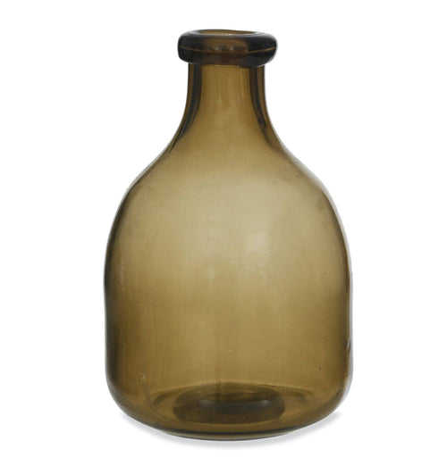 Garden Trading Clearwell Bottle Vase – Chestnut