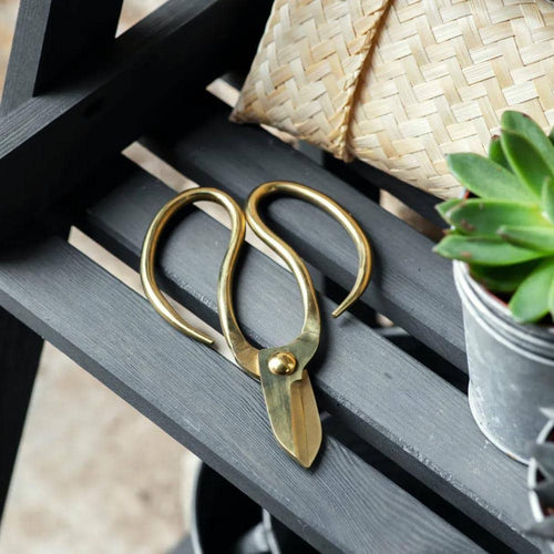Garden Trading Gardening Scissors and Bamboo Pouch