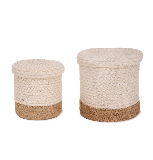 Garden Trading Beckley Jute Storage Baskets – Set of 2
