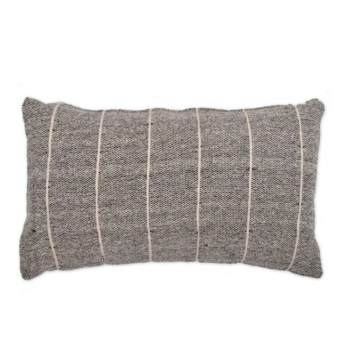 Garden Trading Grey Walberswick Stripe Cushion – Small