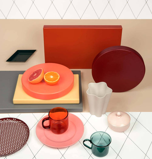 HAY Chopping Board – Round – Coral