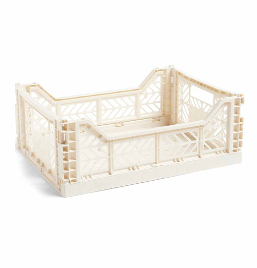 HAY Colour Crate – M – Off White