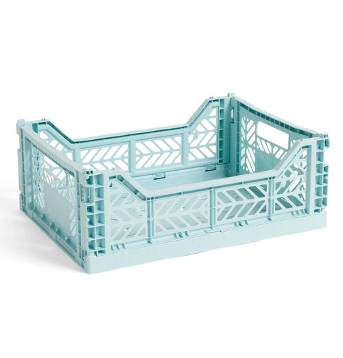 HAY Colour Crate – M – Arctic Blue