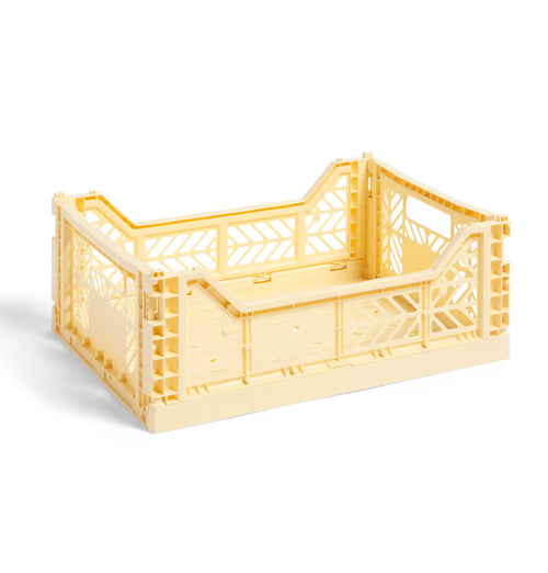 HAY Colour Crate – M – Light Yellow