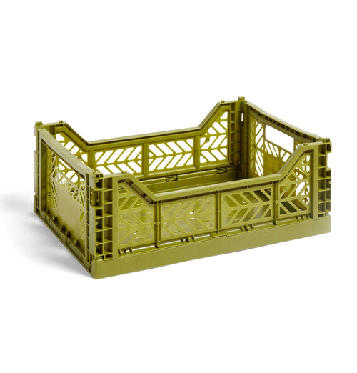 HAY Colour Crate – M – Olive