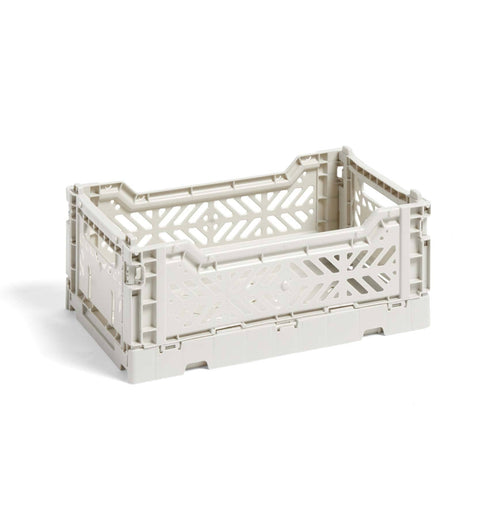 HAY Colour Crate – S – Light Grey
