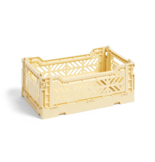 HAY Colour Crate – S – Light Yellow