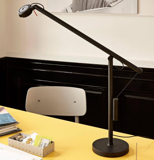 HAY Fifty Fifty Mini Table Lamp – Soft Black