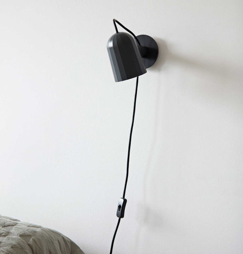 HAY Noc Wall Lamp – Dark Grey
