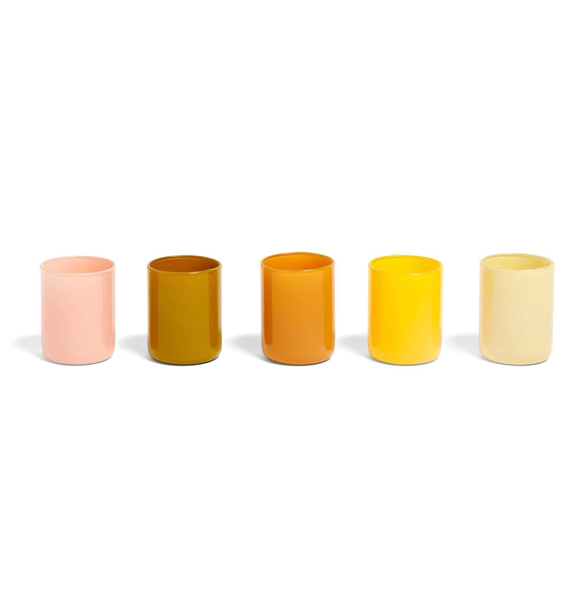 HAY Spot Votive – Set of 5 – Yellow
