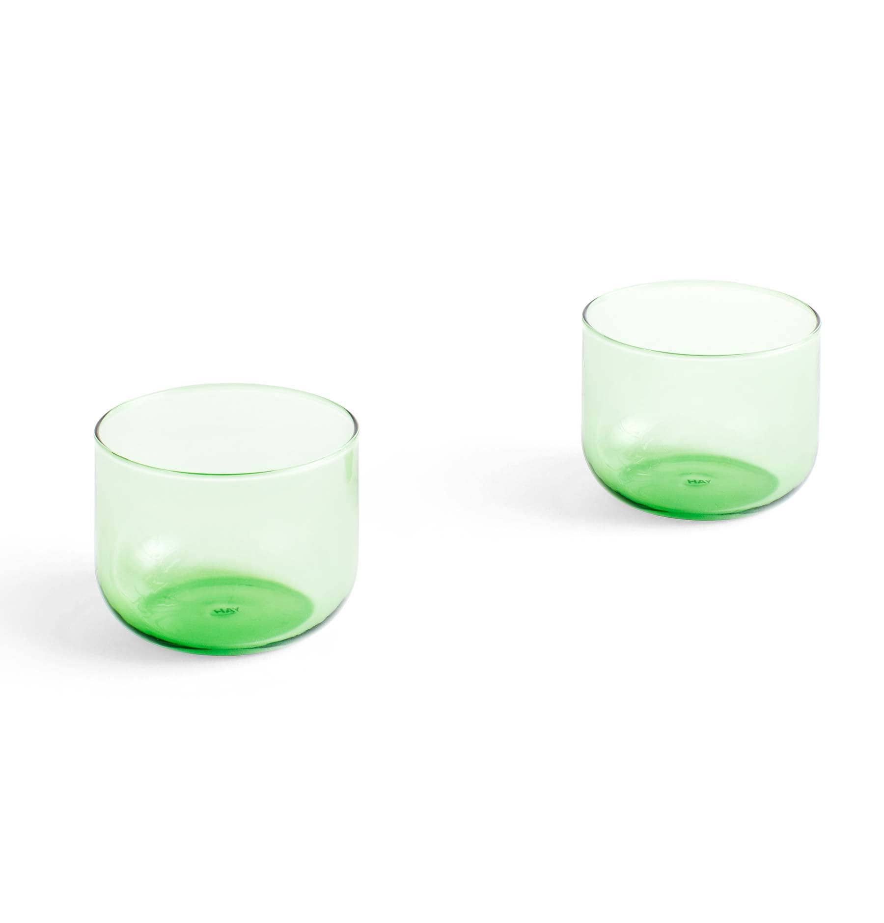 HAY Tint Glass – Green – 200ml – Set of 2