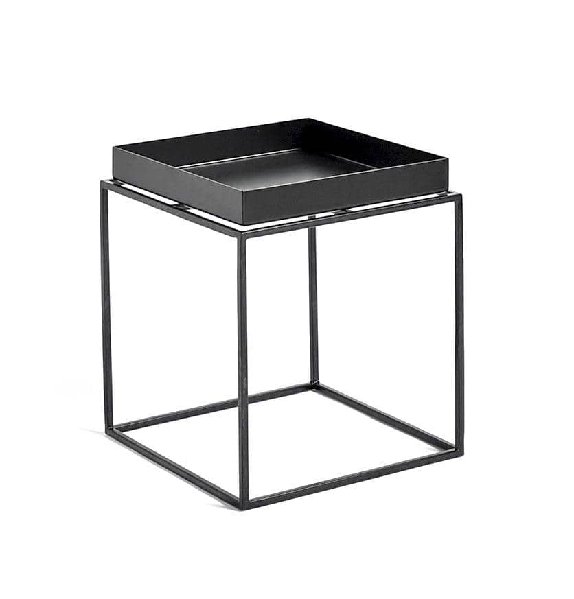 HAY Tray Table – Side Table – S – Black