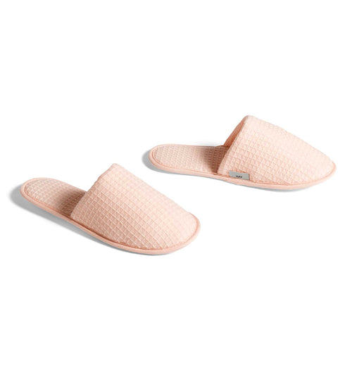 HAY Waffle Slippers – Nude