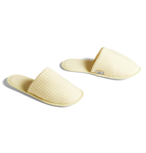 HAY Waffle Slippers – Yellow