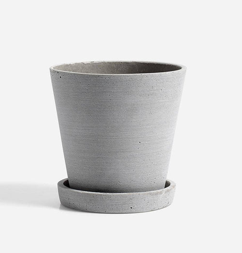 HAY Grey Plant Pot