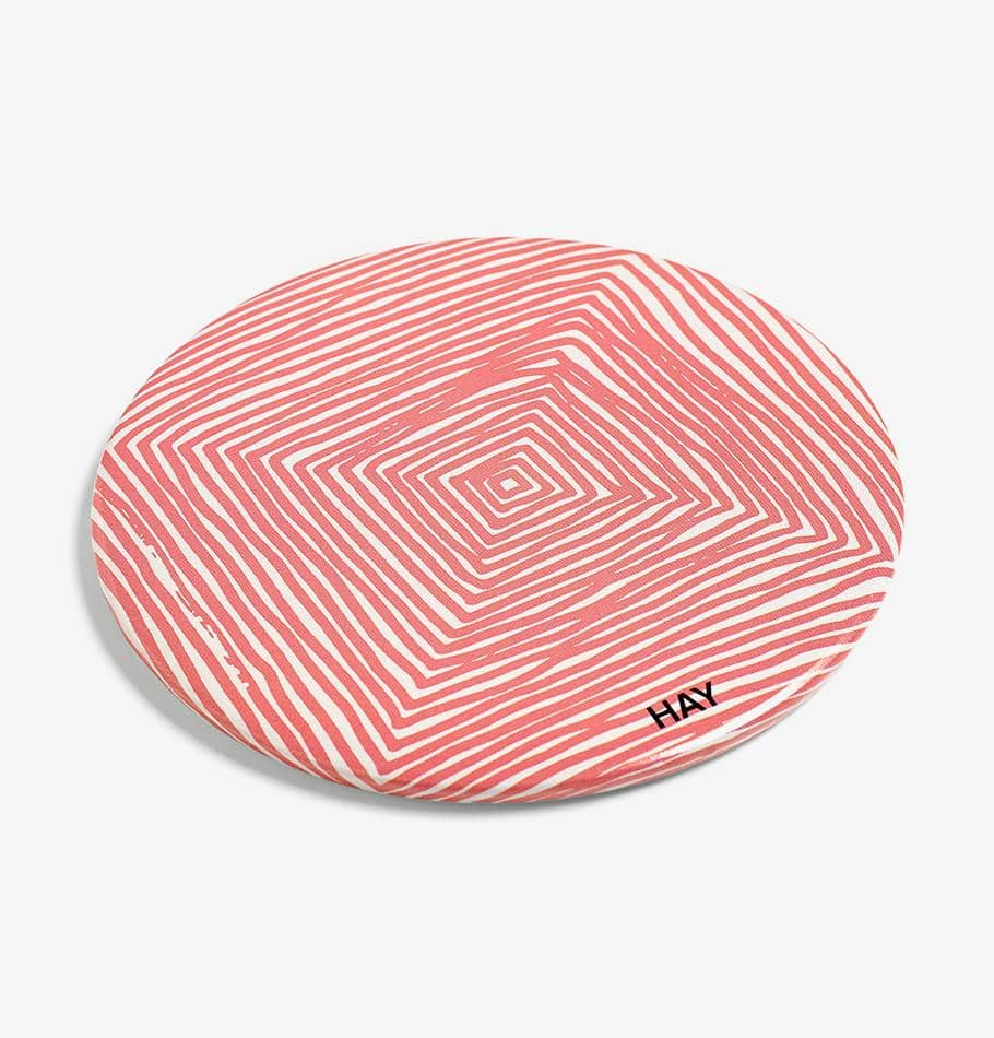 HAY Scribble Mirror (Red)