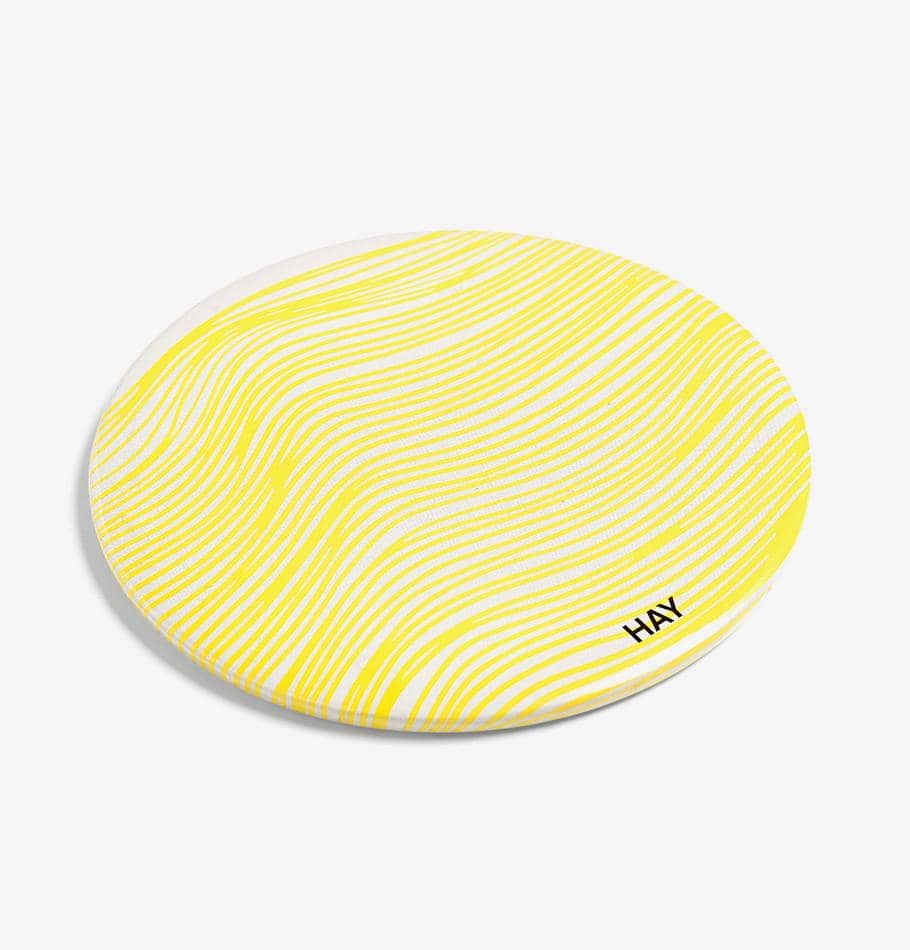 HAY Scribble Mirror (Yellow)