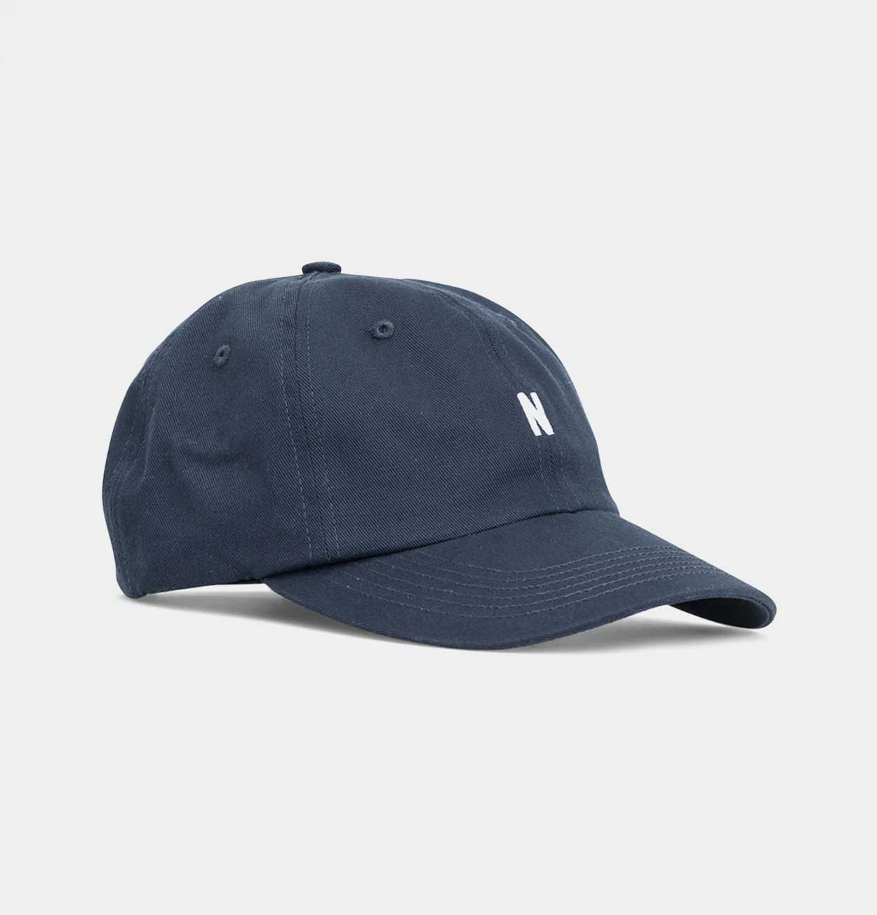 Norse Projects Twill Sports Cap – Dark Navy