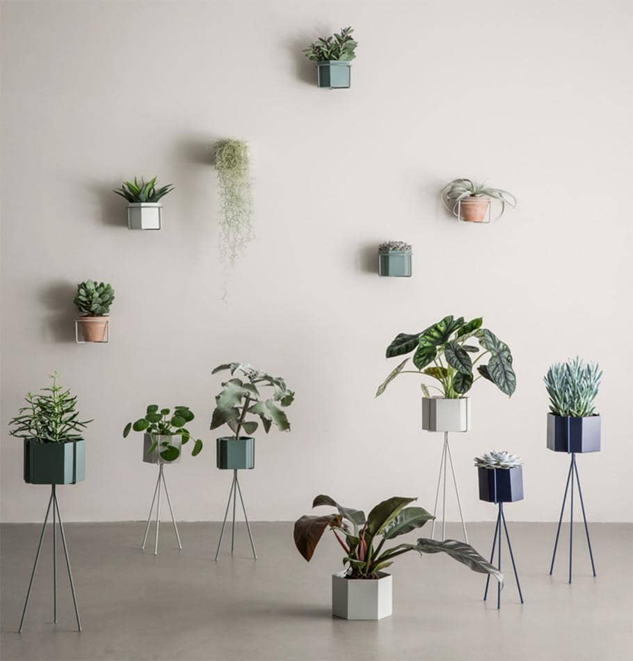 Ferm Living Plant Holder (Grey) - HUH. Store