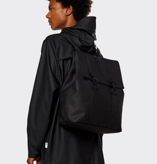 RAINS MSN Bag – Black - HUH. Store