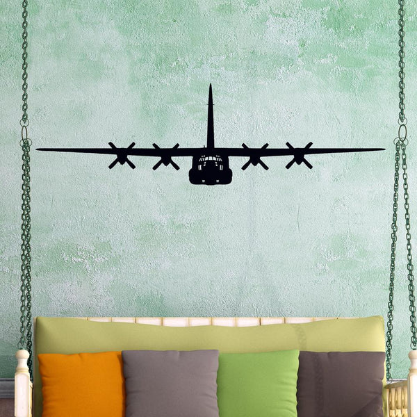 Hercules C-130 Designed Wall Sticker Pilot Eyes Store