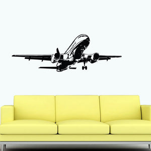 Climbing Airbus A320 Designed Wall Sticker Pilot Eyes Store