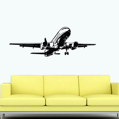 Climbing Airbus A320 Designed Wall Sticker
