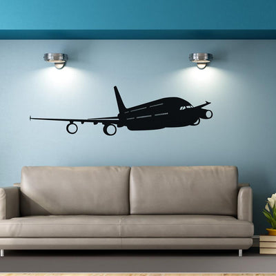 Beautiful Airbus A380 Designed Wall Sticker