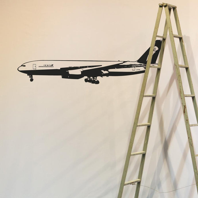 Amazing Boeing 777 on Approach Designed Wall Sticker Aviation Shop