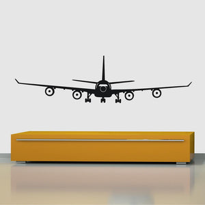 Airbus A340 Designed Wall Sticker Pilot Eyes Store