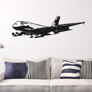 Airbus A380 on Approach Designed Wall Sticker Aviation Shop