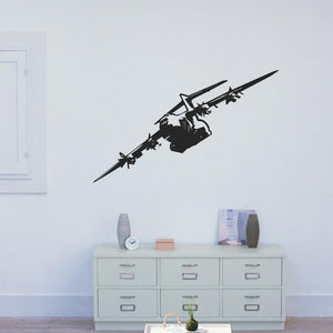Rolling Airbus A400M Designed Wall Sticker Aviation Shop