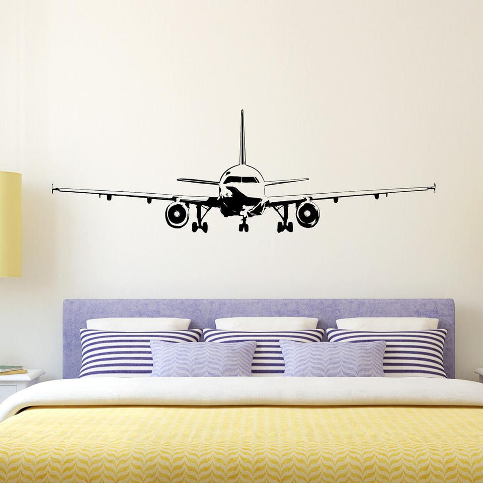 Face to Face with Airbus A320 Designed Wall Sticker Pilot Eyes Store