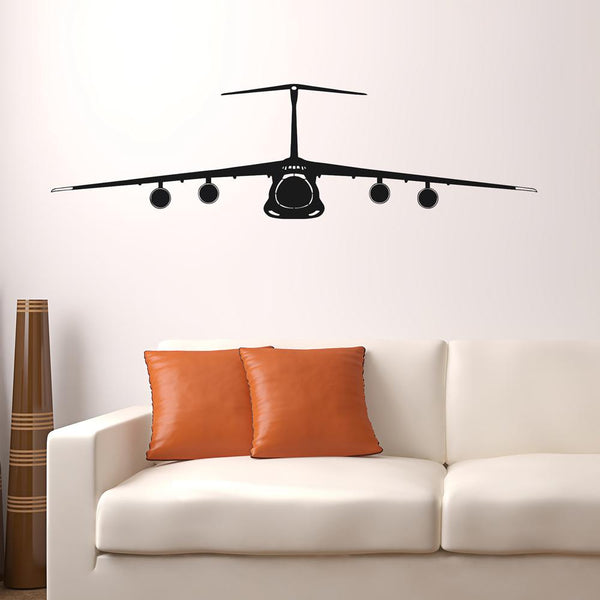 Lockheed Galaxy C-5 Designed Wall Sticker Pilot Eyes Store