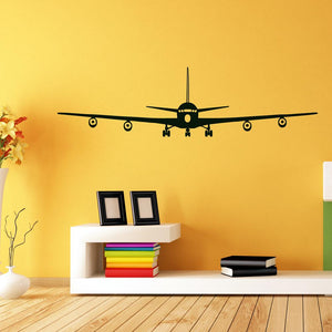 Boeing 707 Designed Wall Sticker Pilot Eyes Store