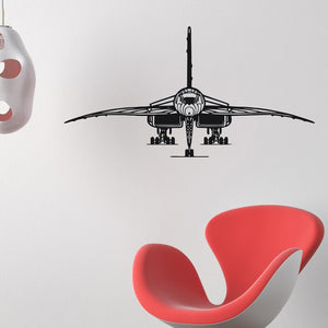 Face to Face with Concorde Designed Wall Sticker Aviation Shop