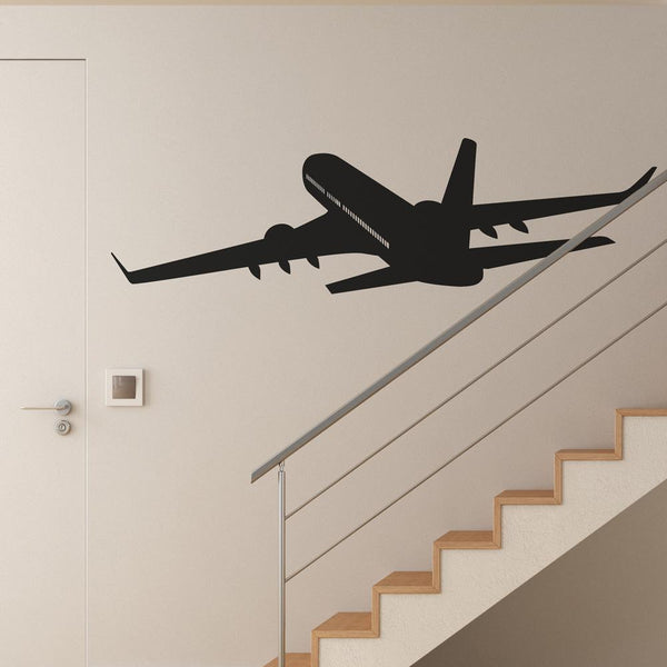 Cruising Aircraft Designed Wall Sticker Pilot Eyes Store